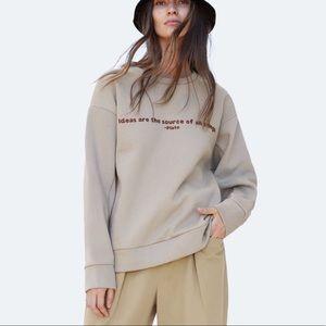 Zara Graphic Sweatshirt